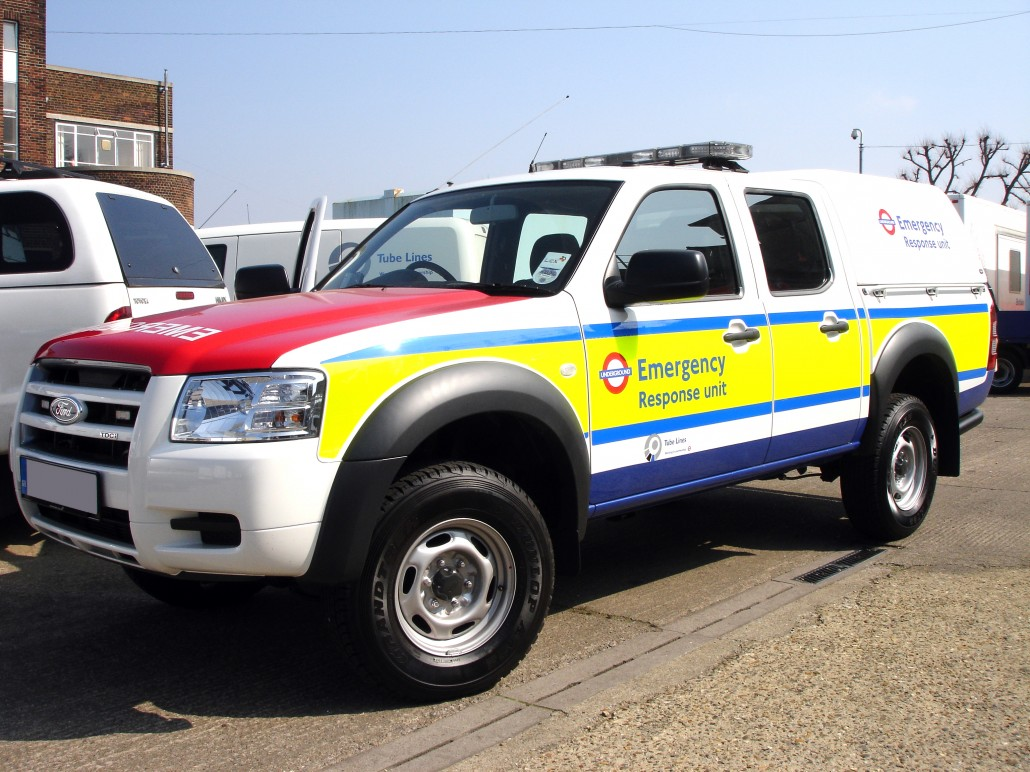 Emergency Response Vehicles Signs Surrey G Print Signs