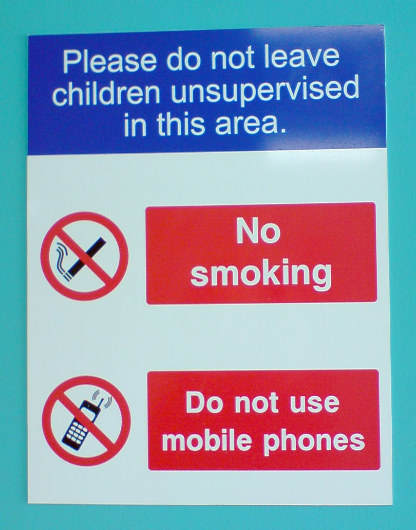 Nhs Safety Signs Surrey G Print Signs